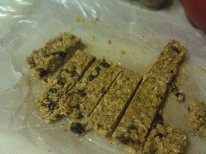 Peanut Butter Honey Granola Bars