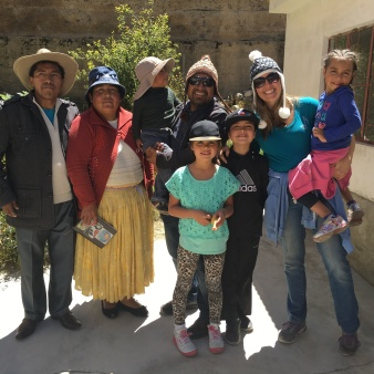 Our families, L-R Victor's Dad-Javier, mom-Miriam, Victor, Richard, Gabriella, Isaac, Robin, Aliyah