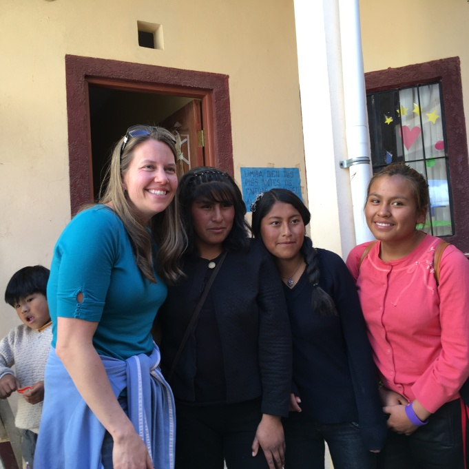 These girls are in their final years at the Compassion sponsorship program