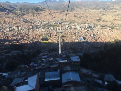 La Paz from the Teleferico
